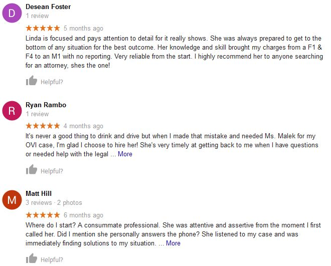 attorney reviews by clients